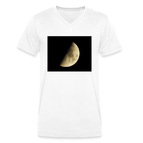 LUNA_3840X3072 - T-shirt ecologica da uomo con scollo a V di Stanley & Stella