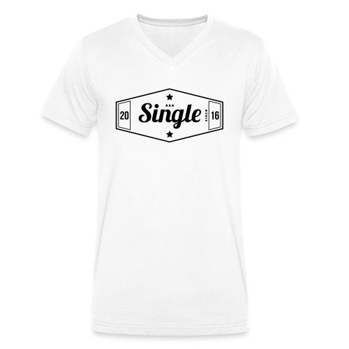 Single since 2016 - Stanley & Stellan miesten luomupikeepaita