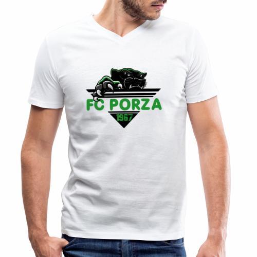 FC Porza 1 - Männer Bio-T-Shirt mit V-Ausschnitt von Stanley & Stella