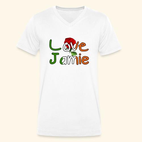 Jlove - Men's Organic V-Neck T-Shirt by Stanley & Stella
