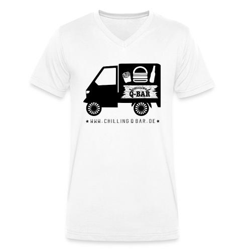 ape solo neu - Männer Bio-T-Shirt mit V-Ausschnitt von Stanley & Stella
