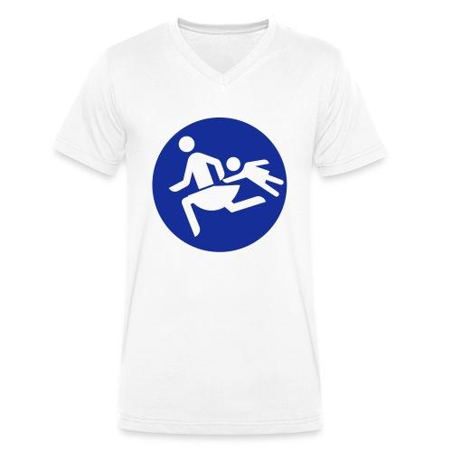 Running Mamas - Männer Bio-T-Shirt mit V-Ausschnitt von Stanley & Stella