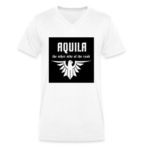 avatar groß durchsichtig GIF - Männer Bio-T-Shirt mit V-Ausschnitt von Stanley & Stella