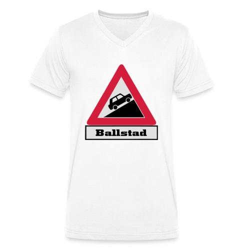 brattv ballstad a png - Økologisk T-skjorte med V-hals for menn fra Stanley & Stella