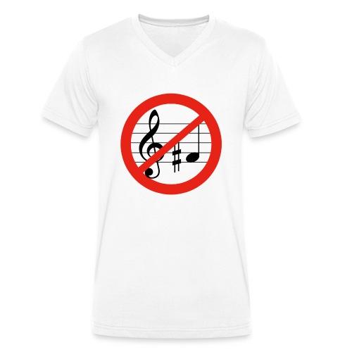 Gib FIS keine Chance - Männer Bio-T-Shirt mit V-Ausschnitt von Stanley & Stella
