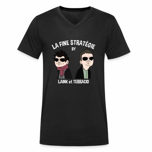 lafinestratégie - T-shirt bio col V Stanley & Stella Homme