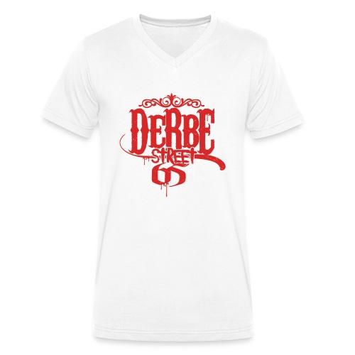 Derbe Street Hoodie - Männer Bio-T-Shirt mit V-Ausschnitt von Stanley & Stella