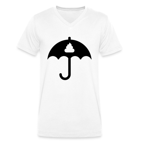 Shit icon Black png - Men's Organic V-Neck T-Shirt by Stanley & Stella