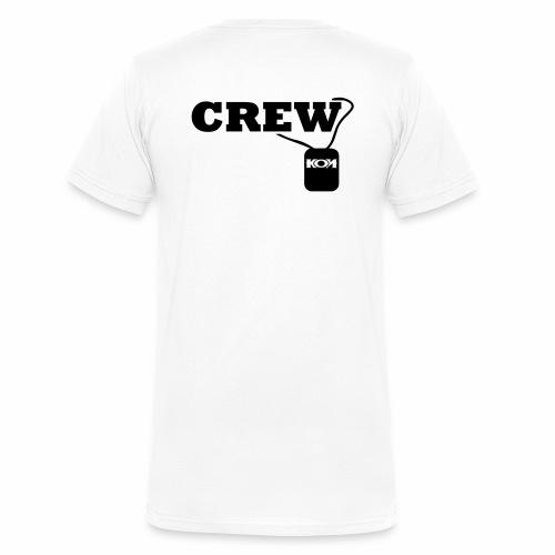 KON - Crew - Männer Bio-T-Shirt mit V-Ausschnitt von Stanley & Stella