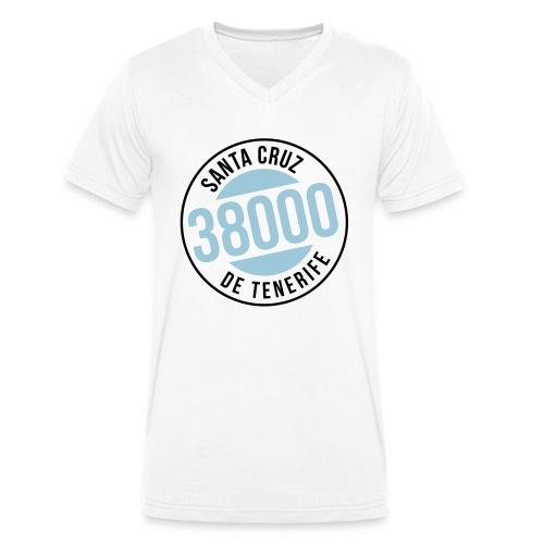 Santa Cruz de Tenerife - Männer Bio-T-Shirt mit V-Ausschnitt von Stanley & Stella
