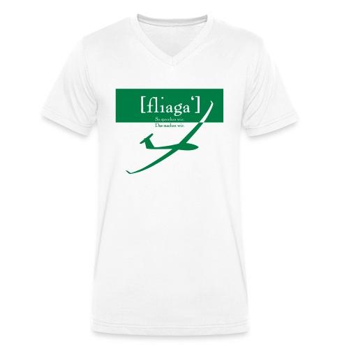 fliaga - Männer Bio-T-Shirt mit V-Ausschnitt von Stanley & Stella