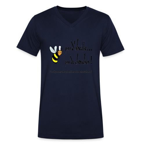 Pas d'abeille, pas de chouchen - T-shirt bio col V Stanley & Stella Homme