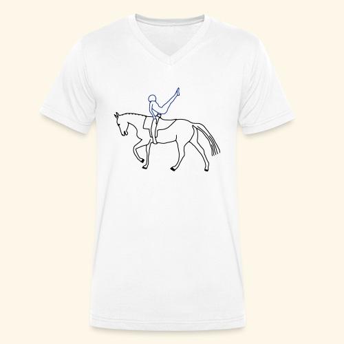 Voltigieren - Kür - Männer Bio-T-Shirt mit V-Ausschnitt von Stanley & Stella