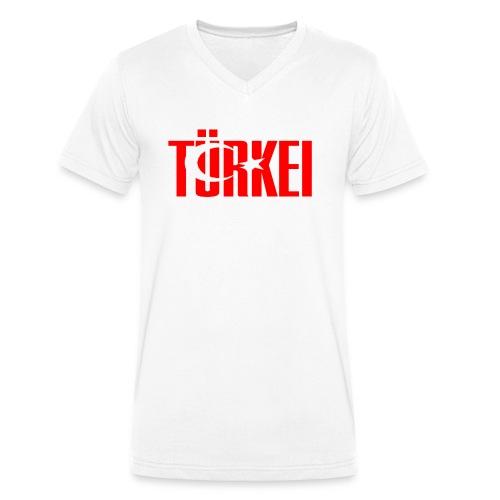 türkei - Männer Bio-T-Shirt mit V-Ausschnitt von Stanley & Stella