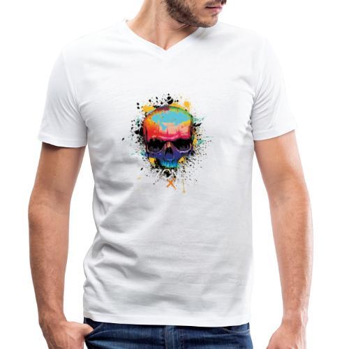 TroubleZone - Männer Bio-T-Shirt mit V-Ausschnitt von Stanley & Stella