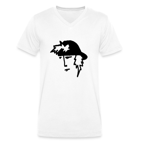 SkateMan - T-shirt ecologica da uomo con scollo a V di Stanley & Stella