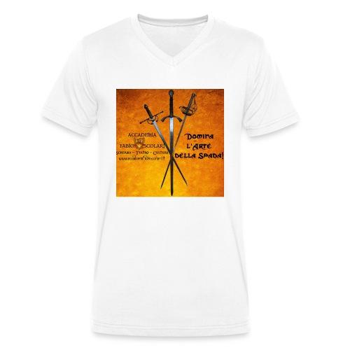3spade-jpg - T-shirt ecologica da uomo con scollo a V di Stanley & Stella