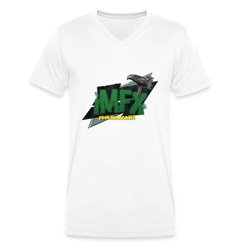 [iMfx] paolocadoni98 - T-shirt ecologica da uomo con scollo a V di Stanley & Stella