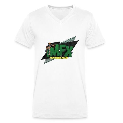 [iMfx] carloggianu98 - T-shirt ecologica da uomo con scollo a V di Stanley & Stella