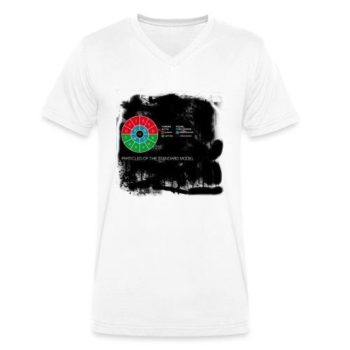 particlesmad-png - Camiseta ecológica hombre con cuello de pico de Stanley & Stella