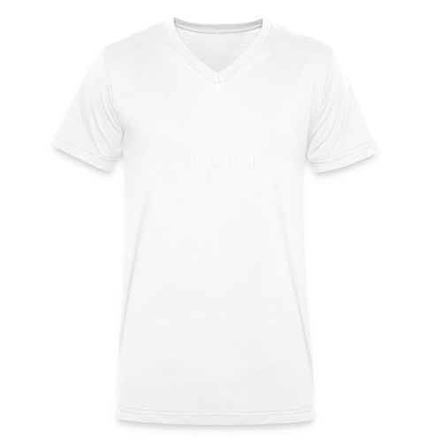 MindRape Corp Snapback Hat Black-Gray - Men's Organic V-Neck T-Shirt by Stanley & Stella
