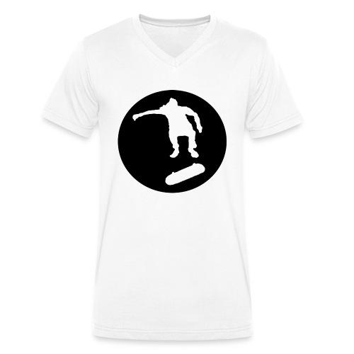 FVHJ Hoodie med logo på ryggen - Økologisk Stanley & Stella T-shirt med V-udskæring til herrer