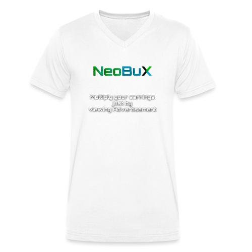 NeoBuX - Men's Organic V-Neck T-Shirt by Stanley & Stella