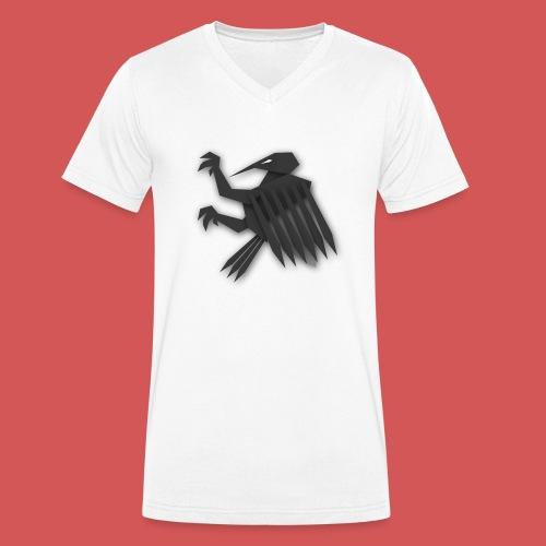 Nörthstat Group ™ Black Alaeagle - Men's Organic V-Neck T-Shirt by Stanley & Stella
