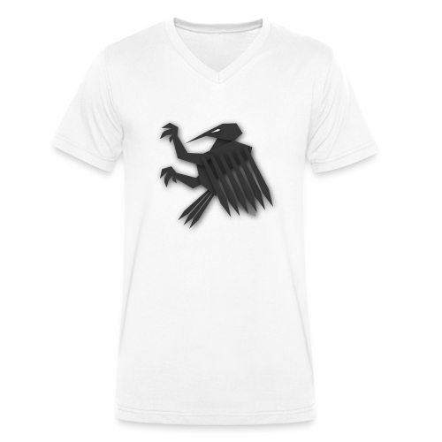 Nörthstat Group ™ Black Alaeagle - Men's Organic V-Neck T-Shirt by Stanley & Stella