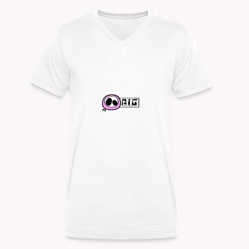 logo_PIGstudio-png - T-shirt ecologica da uomo con scollo a V di Stanley & Stella