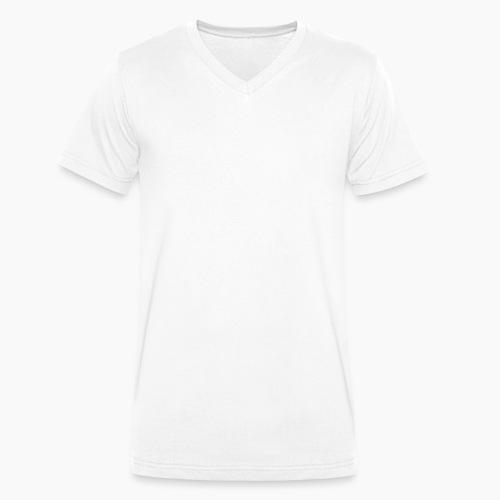 Snow White Dragon Sweatshirt - Men's Organic V-Neck T-Shirt by Stanley & Stella
