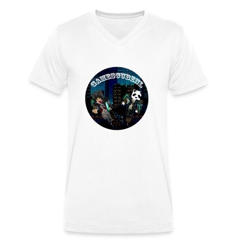 GCNL-Logo Female - Mannen bio T-shirt met V-hals van Stanley & Stella