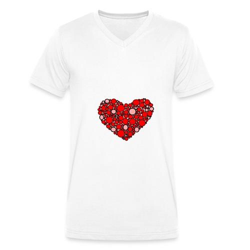 Hjertebarn - Økologisk Stanley & Stella T-shirt med V-udskæring til herrer