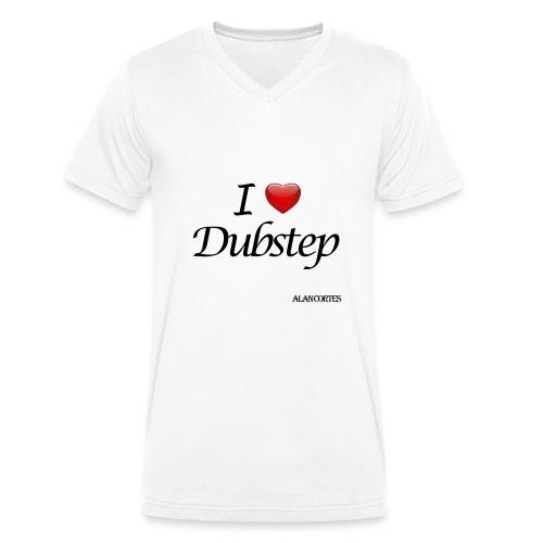 Camiseta - Mujer - I Love Dubstep - Camiseta ecológica hombre con cuello de pico de Stanley & Stella
