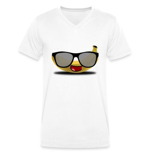 Billig skit - Ekologisk T-shirt med V-ringning herr från Stanley & Stella