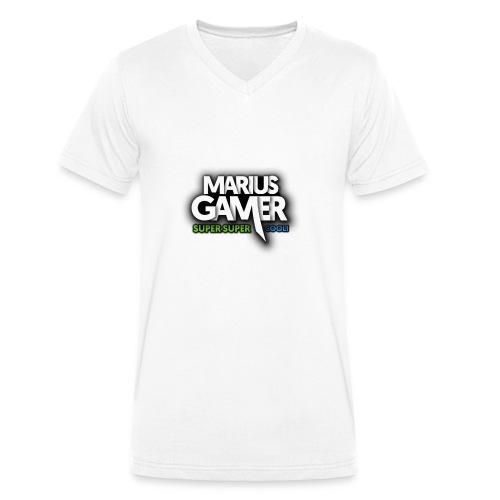 SuperSuperCool Pullover - Männer Bio-T-Shirt mit V-Ausschnitt von Stanley & Stella