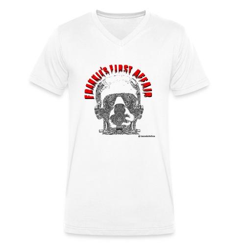 Frankiefirstaffair_2 - Camiseta ecológica hombre con cuello de pico de Stanley & Stella