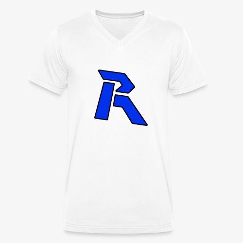 Rainkz Logo Pullover - Männer Bio-T-Shirt mit V-Ausschnitt von Stanley & Stella