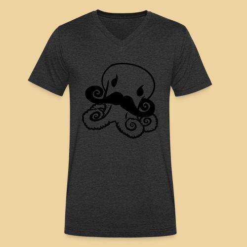 Gentle Octo - Männer Bio-T-Shirt mit V-Ausschnitt von Stanley & Stella