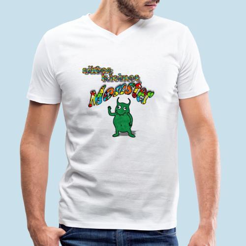 Süßes kleines Monster - Männer Bio-T-Shirt mit V-Ausschnitt von Stanley & Stella