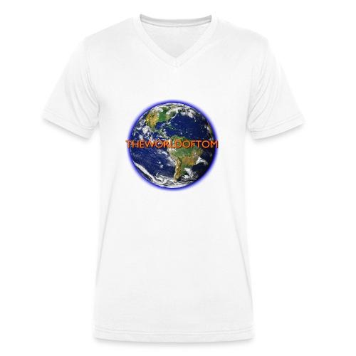 TheWorldOfTom Mug - Men's Organic V-Neck T-Shirt by Stanley & Stella