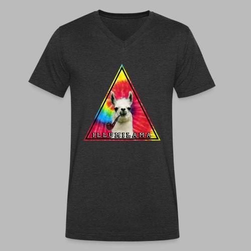 Illumilama logo T-shirt - Men's Organic V-Neck T-Shirt by Stanley & Stella