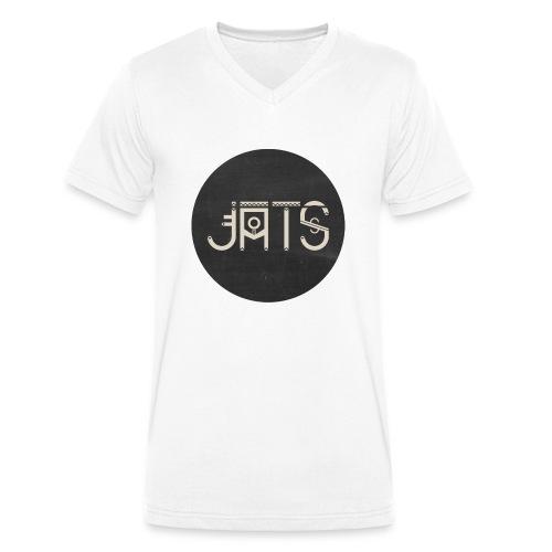 JATS indien circle - T-shirt bio col V Stanley & Stella Homme