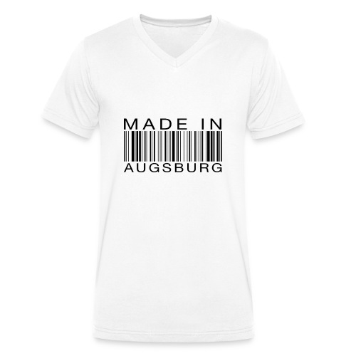 Made in Augsburg - Männer Bio-T-Shirt mit V-Ausschnitt von Stanley & Stella