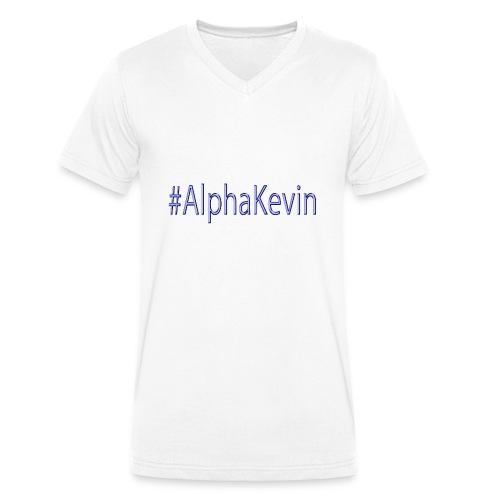 #AlphaKevin - Männer Bio-T-Shirt mit V-Ausschnitt von Stanley & Stella