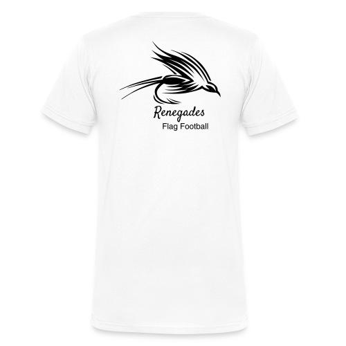 Renegades_Black_Schrift P - Männer Bio-T-Shirt mit V-Ausschnitt von Stanley & Stella