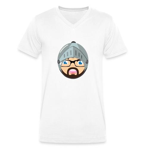 Dizzyworld Ritter - Männer Bio-T-Shirt mit V-Ausschnitt von Stanley & Stella
