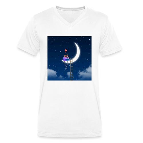 Topini in Love - T-shirt ecologica da uomo con scollo a V di Stanley & Stella