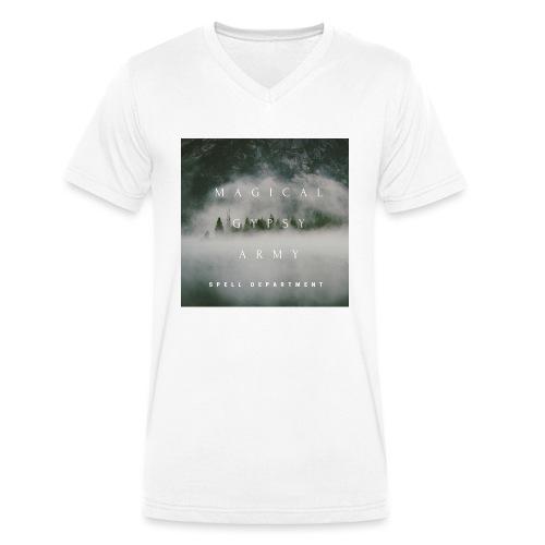 MAGICAL GYPSY ARMY SPELL - Männer Bio-T-Shirt mit V-Ausschnitt von Stanley & Stella