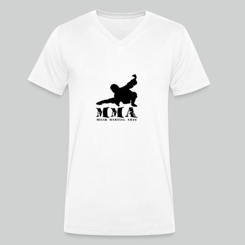 MMA Master - Männer Bio-T-Shirt mit V-Ausschnitt von Stanley & Stella